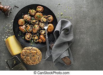 hongo, champignon