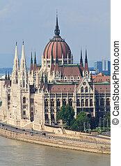 hongrie, budapest, parlement, hongrois