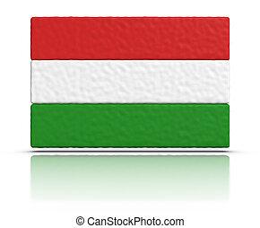 hongrie, drapeau
