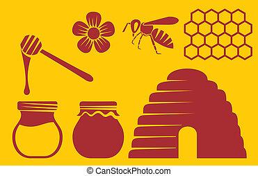 honigbiene, heiligenbilder