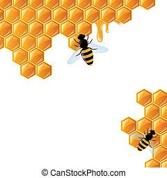 honing, achtergrond