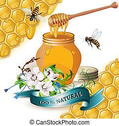 honingskruik, houten, waterspreeuw