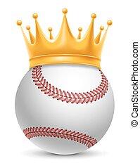 honkbal bal, kroon