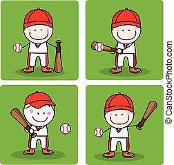 honkbal, geitjes