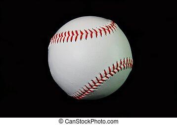 honkbal, op, black