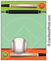 honkbal, toernooi, vector