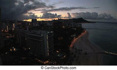 Honolulu Sunrise, time lapse