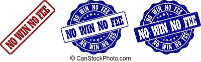 honorarium, grunge, nee, postzegel, winnen, zegels