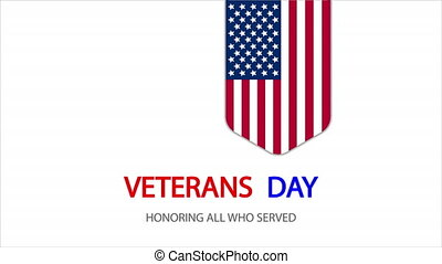 Honoring all who served on veterans day