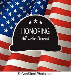 honrar, todos, quién, servido