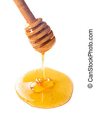 honung, droppa