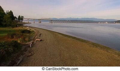 Hood Canal Bridge Puget Sound Highway Transportation...