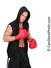 hooded boxer