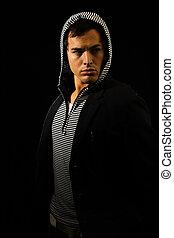 hooded, moda