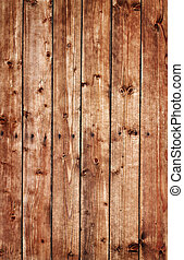 hoog, bruine , hout, resolutie, plank