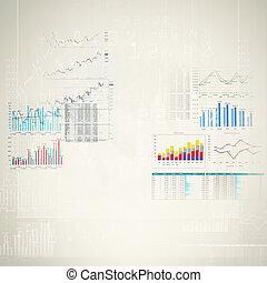 hoog, marketing, technologie, achtergrond