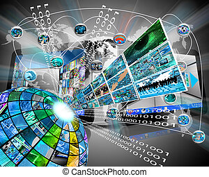 hoog, sector, technologie