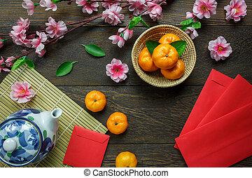 hoogste mening, accessoires, chinees nieuw jaar,...