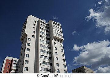 hoogte, gebouw