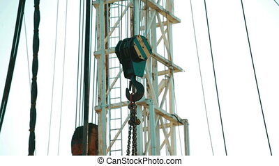 Hook of construction crane - HOOKS FROM A CRANE. HEAVY DUTY...