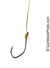 hook on golden string