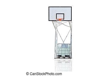 hoop on white