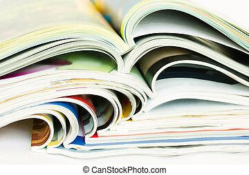 hoop, open, tijdschriften