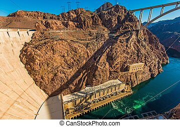 Hoover Dam Canyon