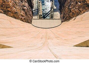 Hoover Dam Depth