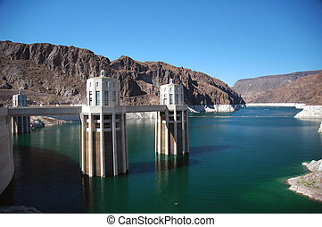 Hoover Dam in the USA.