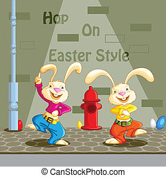 Hop on Easter Style