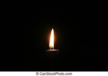 Hope - A candle in the dark