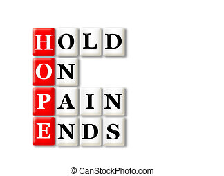 hope - Acronym concept of Hope and other releated words