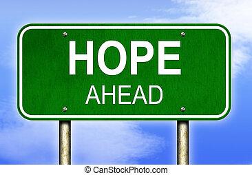 Hope Highway Sign