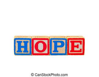Hope Letter Blocks 1