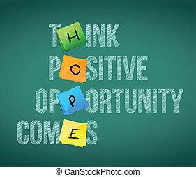 hope words written on a chalkboard illustration design...
