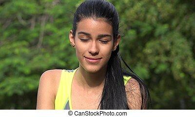 Hopeful Girl Teen