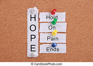 Hope(Hold On, Pain Ends)