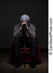 Hopeless disabled retiree