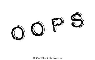 hopp!, gumi bélyegző