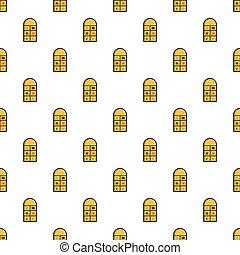 Hopscotch game pattern seamless