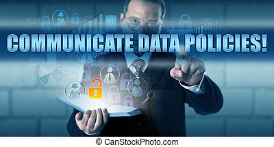 hora, comunicarse, director, policies!, planchado, datos