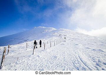 hora, snezka, -, čech republika, nejvyšší, názor