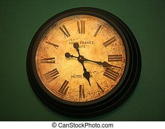 horas, antiguo, todavía, ir