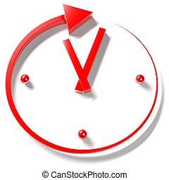 horas, hora