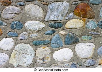 horisontal, 石, 自然, 手ざわり, 背景, ポジション