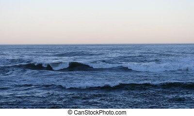 Horizon at the Atlantic Ocean.Horizon at the Atlantic Ocean....