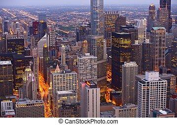 horizon, chicago