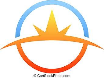 Horizon Concept Symbol, Circle concept logo