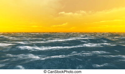 horizon - sea and horizon